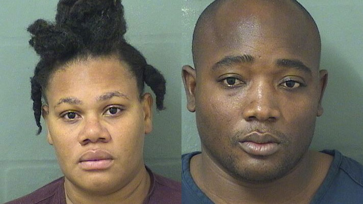 Florida couple charged after they 'forgot' toddler in park