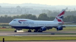 A British Airways fllight landed in the wrong city. (AFP/Karen BLEIER)