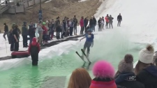 Raw: Fun at Boler Mountain Puddle Jump