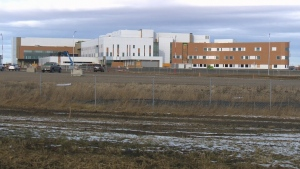 Grande Prairie hospital construction