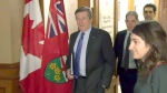Tory, Ford meet to talk 'complicated issues'