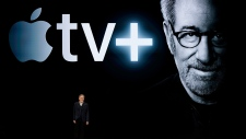 Director Steven Spielberg speaks about Apple TV+