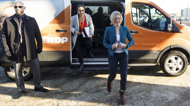 Alberta NDP Leader Rachel Notley