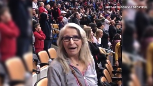 Buzzer beater spoils mom's first Raptors game