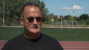 Andy McInnis coached Canada's 4x100-metre men's relay team to gold at the 1996 Atlanta Olympics and went on to become Canada's national program director. (CTV Ottawa)