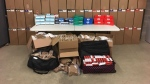 Moose Jaw police say they seized these illegal cigarettes at a traffic stop (Supplied)