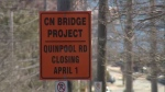 Main artery will be closed for months as bridge over south end railcut gets repaired.