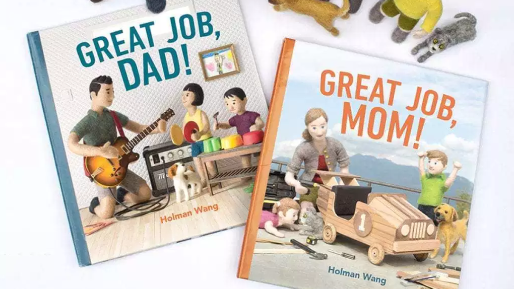 B.C. children's author celebrates parents' unpaid jobs in new books