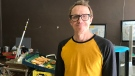 Keith Jorgenson, owner of Pleasant Hill Bakery. (Stephanie Villella/CTV Saskatoon)