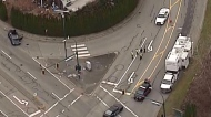 Pedestrian dead in Coquitlam crash