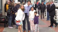 Trudeau makes two stops in B.C.
