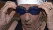 Age just a number for 95-year-old swimmer