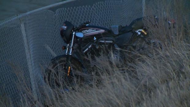 Motorcycle crash - Deerfoot Trail on-ramp