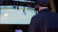 First NHL game broadcast in Cree