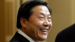In this Sept. 23, 2015, file photo, China's Internet czar Lu Wei attends a gathering of CEOs and other executives at Microsoft's main campus in Redmond, Wash. (AP Photo/Ted S. Warren, Pool, File)
