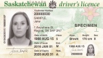 A Saskatchewan driver's licence is seen in this supplied image.