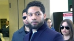 Jussie Smollett after court: 'I've been truthful'