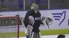 Knights' new-ish goalie proving his playoff mettle
