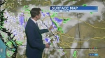 Potential for afternoon drizzle, Kevin has details