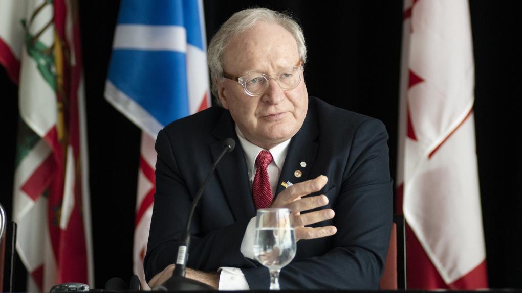 Prince Edward Island Premier Wade MacLauchlan