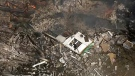 The view from the CTV News Toronto Chopper of a home explosion in Pickering on March 25, 2019.