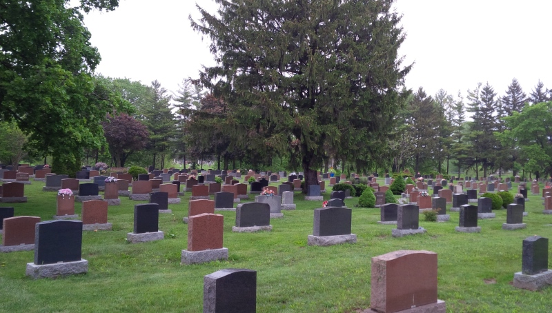 Maple Leaf Cemetery at 55 Maple Leaf Drive in Chatham, Ont. (Courtesy Municipality of Chatham-Kent)