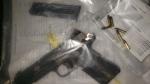 A stolen gun found loaded in Simcoe. (Source: Norfolk County OPP)