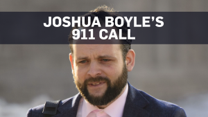 Excerpts from Joshua Boyle's 911 call
