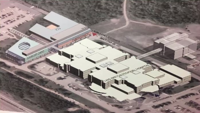 A $100-million expansion of Cape Breton's largest hospital has been the talk of the town for the past 24 hours.