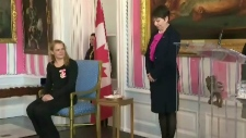 Saskatoon woman recognized for bravery