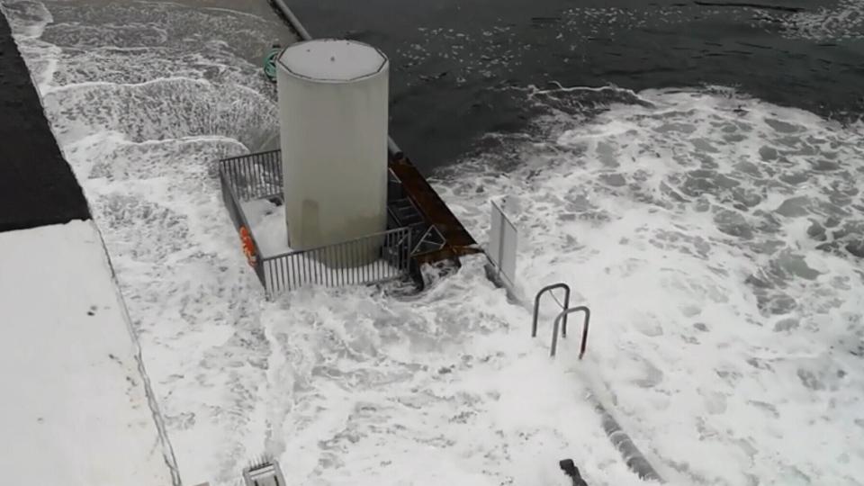 Ferry crash on the Sunshine Coast