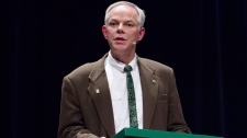 P.E.I. Green Leader Peter Bevan-Bake