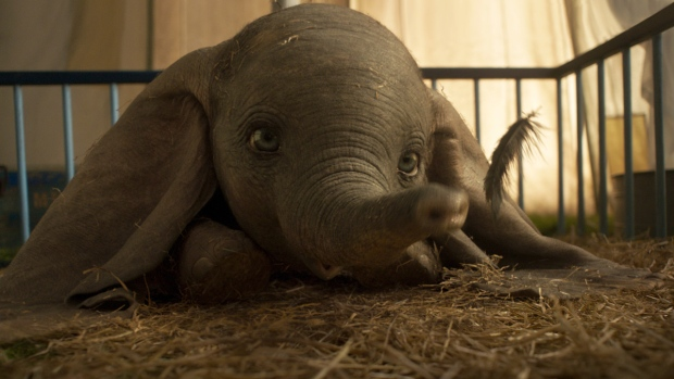 A scene from 'Dumbo.'