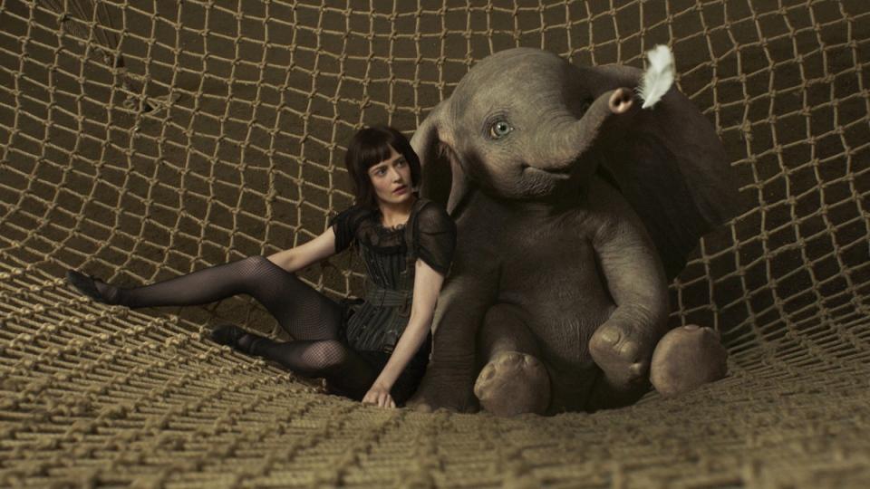 Eva Green in a scene from 'Dumbo.' (Disney via AP)