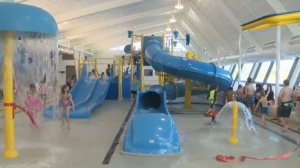 The city said the renovation cost $9.7 million, with $500,000 coming from the federal government and just over $1 million from the province.