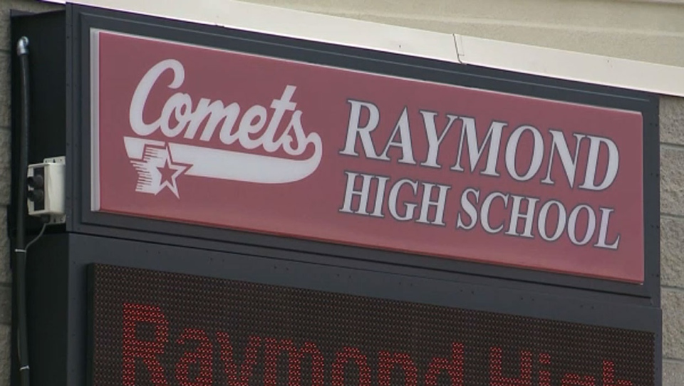 A former teacher at the Raymond High School was found not guilty of sexual exploitation and child luring on Thursday.