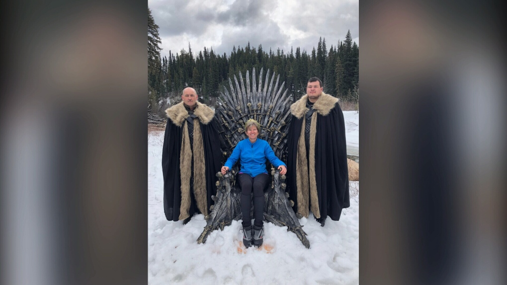 Iron Throne replica from 'Game of Thrones' discovered outside B.C. town