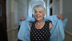 Finance Minister Carole James said a dress code review at the legislature is long overdue. (CTV Vancouver Island)