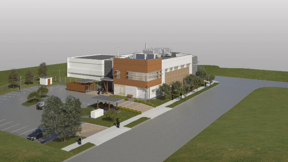 A rendering of a new 24-hour emergency veterinary hospital being built in Greater Victoria is shown. March 28, 2019. (Submitted)