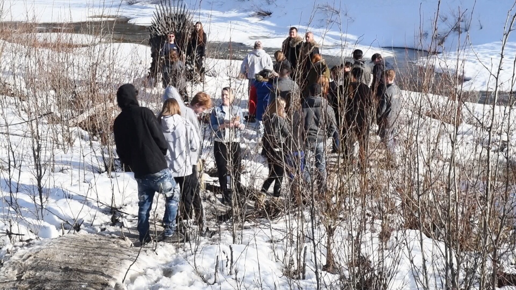 Game of Thrones scavenger hunt leads fans to northern B.C.
