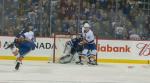 The New York Islanders beat the Winnipeg Jets 5-4 Thursday.