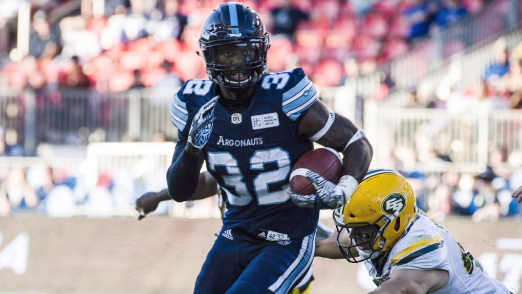 Argos' running back James Wilder Jr. happy Simoni Lawrence to suit up for Ticats