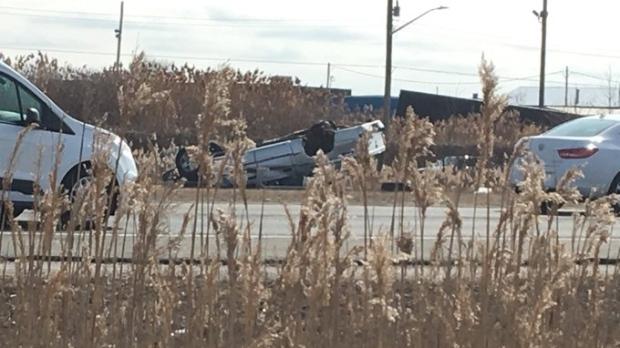 E C  Row rollover proves deadly | CTV News Windsor