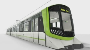 This is the colour scheme that was selected for the REM trains