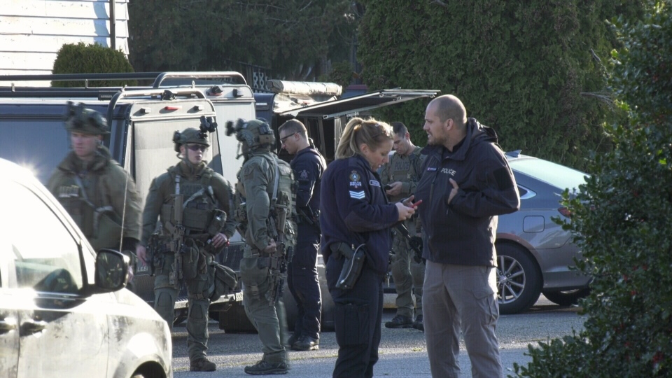 Hostage situation in Surrey