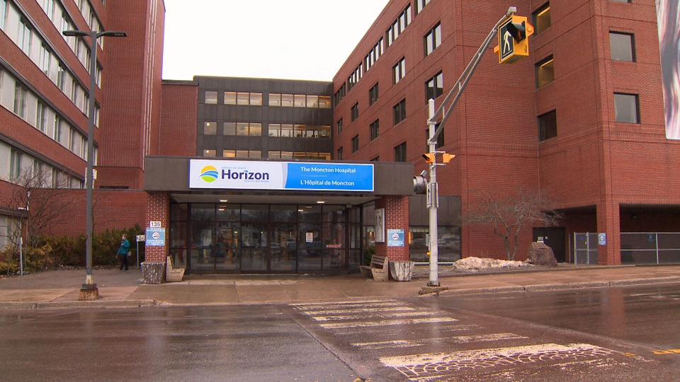 The Moncton Hospital is seen on Friday, March 29, 2019.