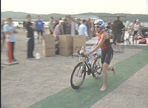 Triathlete dies following collapse at Ironman competition