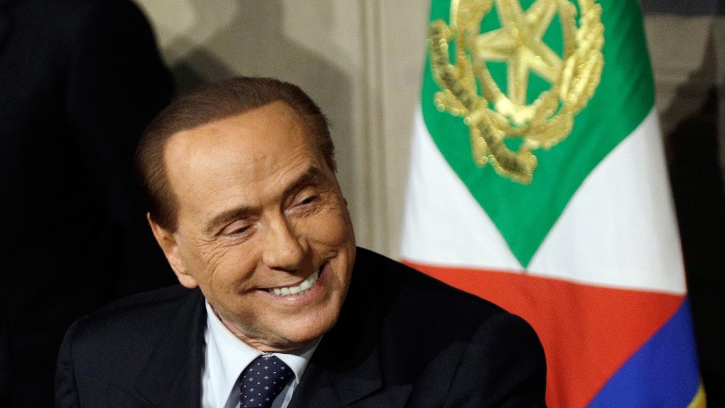 Berlusconi hospitalised after positive virus test