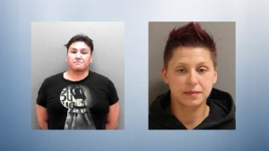 Police are looking for Red Deer residents Quentin Strawberry and Jennifer Caswell, who have been charged with second degree murder in the death of Joseph Junior Alfred Gallant.