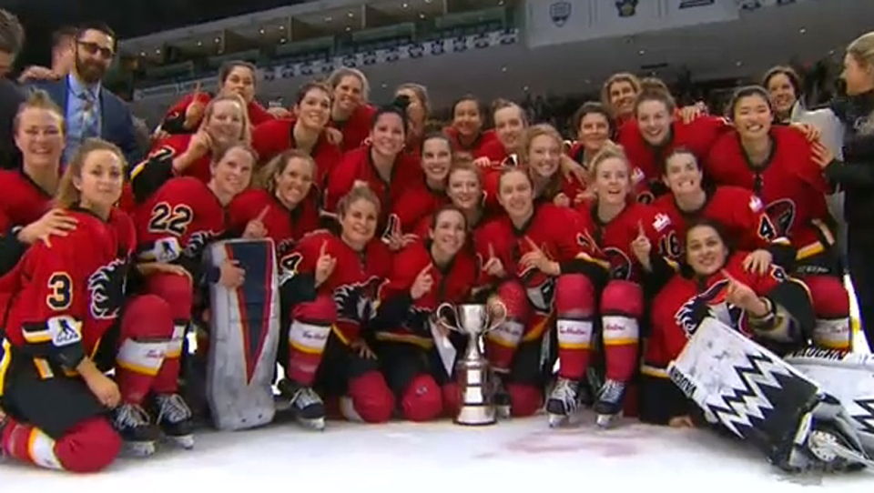 9120a3c0a Female hockey players express disappointment over CWHL shutdown with ...